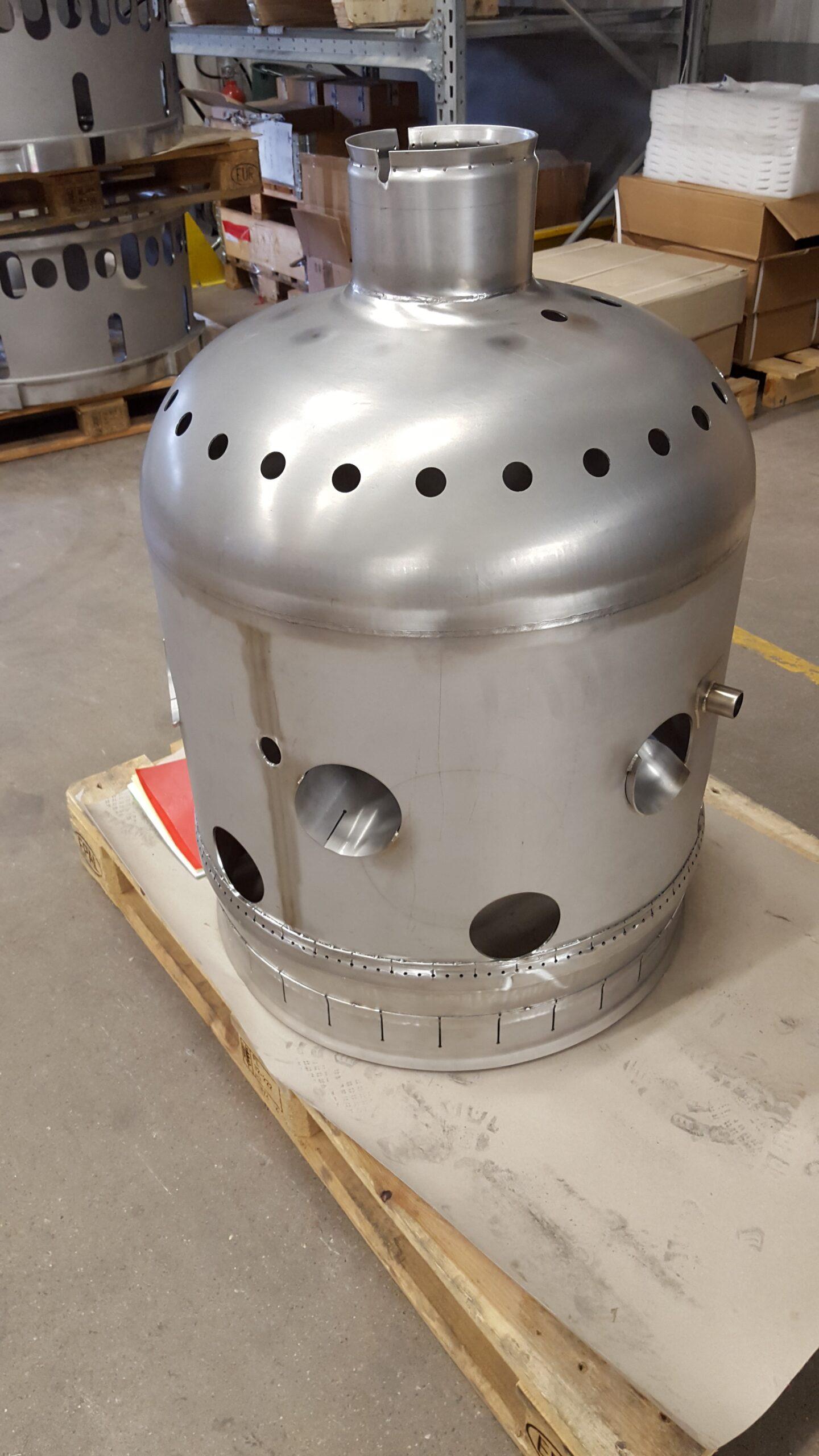 2015-06 Flamrör | Flamrör i material 253 MA klar för leverans efter slutkontroll. 2015-06