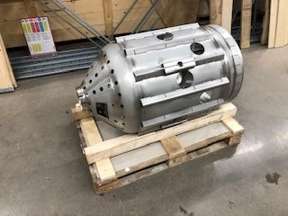 2019-02 Combustion chamber BK,ready for delivery to customer.